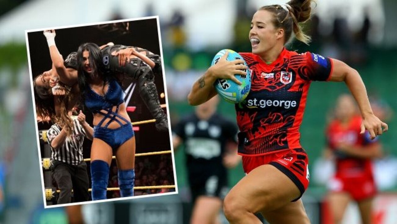 NRLW stars such as Isabelle Kelly are a target for WWE.