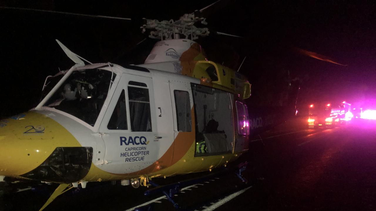RACQ CAPRICORN RESCUE was tasked to a location near Raglan on the Bruce Highway.