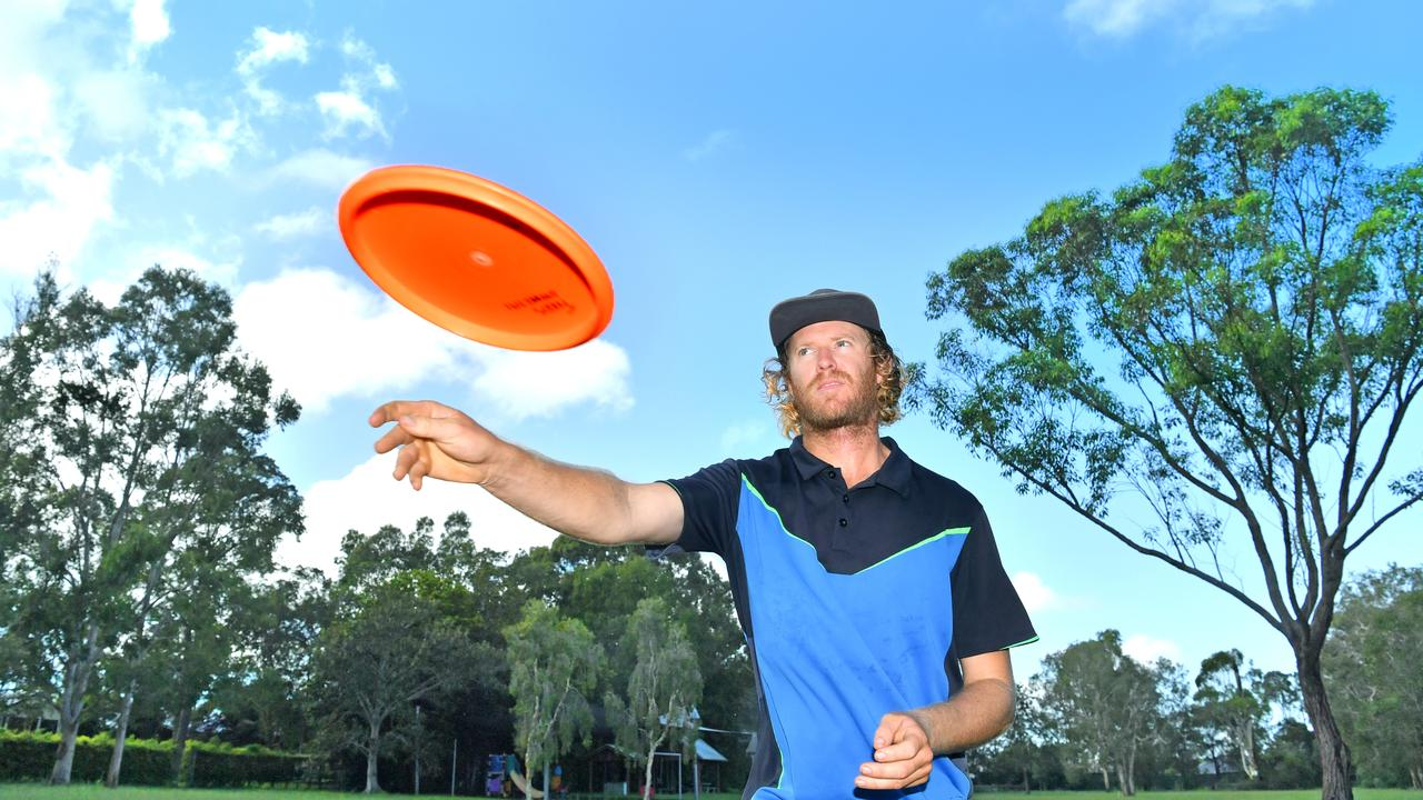 Adam Lowe is part of the Sunshine Coast Disc Golf Club has been working hard to secure a permanent home for the sport on the Sunshine Coast.