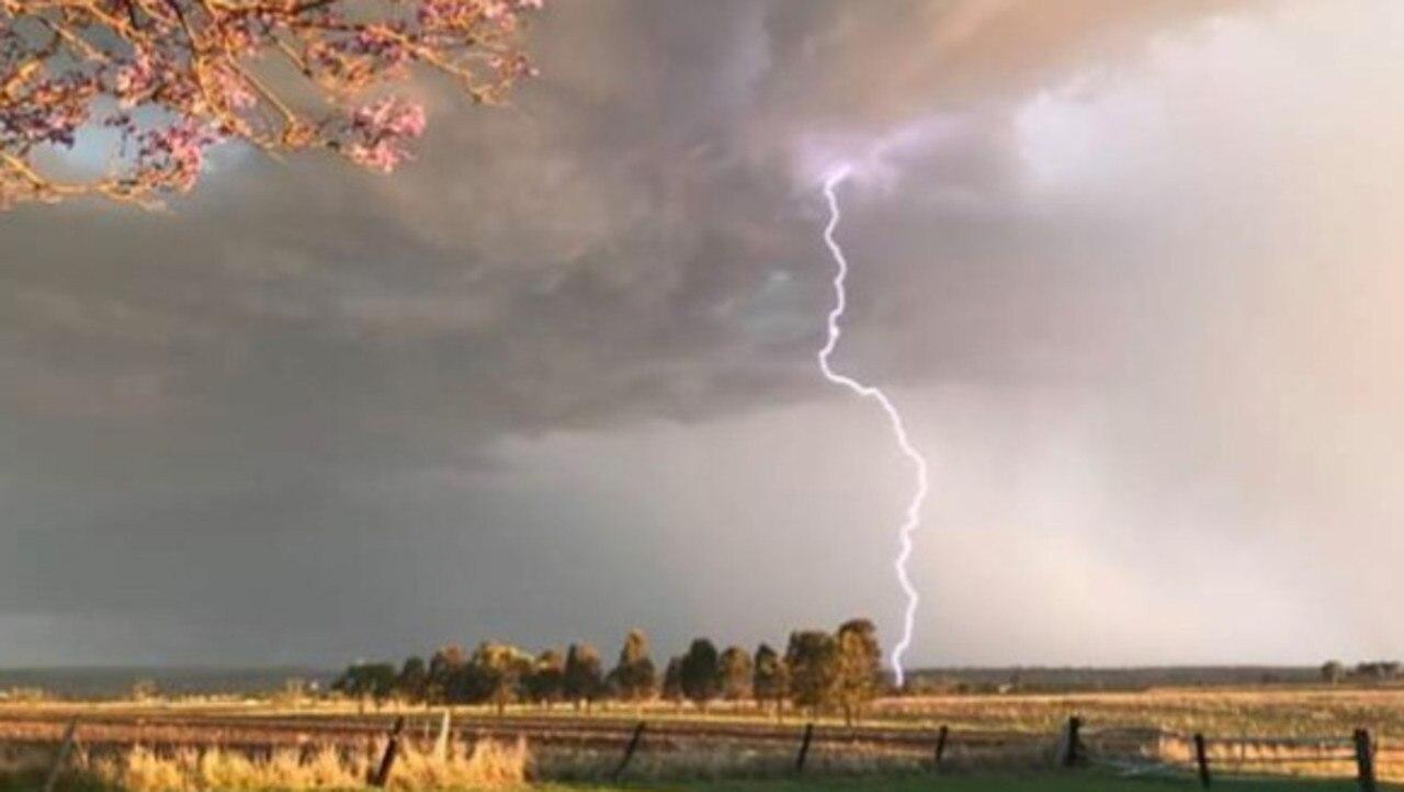 A storm rolling in at Talgai, QLD.