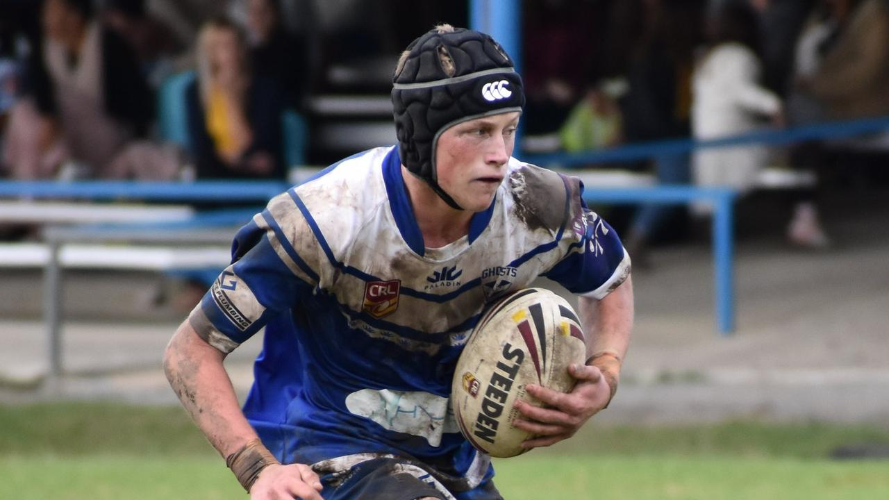 North Coast Bulldogs star Elliot Speed in action during an under-18 clash between the Grafton Ghosts and Woolgoolga Seahorses at Frank McGuren Field in 2019.