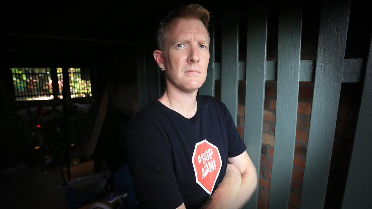 Galilee Blockade spokesman Ben Pennings. Picture: Jamie Hanson