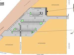 FRESH LOOK: Kingaroy carpark design for consultation