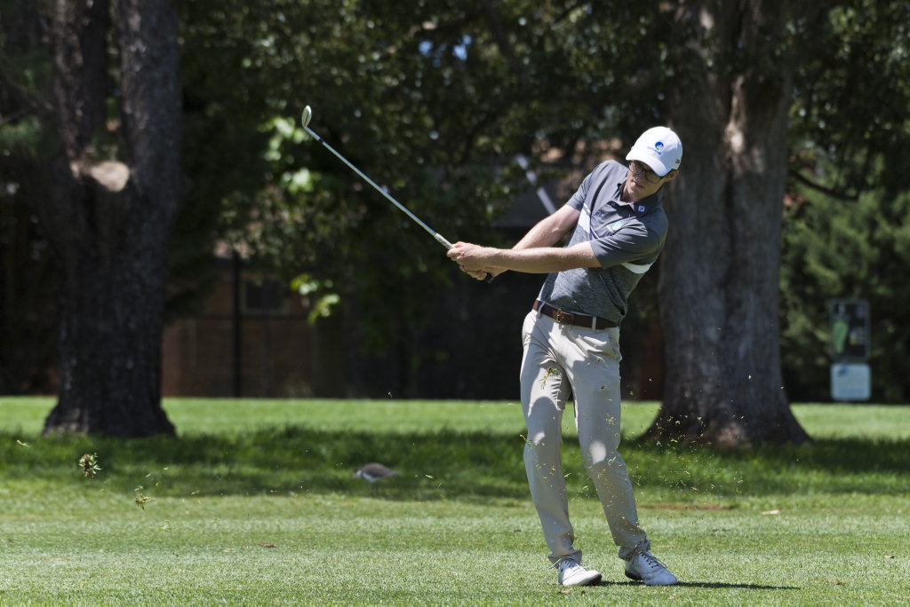 Lawry Flynn in the Queensland PGA Championship final day of play at City Golf Club, Sunday, February 16, 2020. Picture: Kevin Farmer