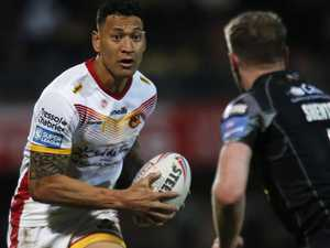 Folau cheered, returns with a bang