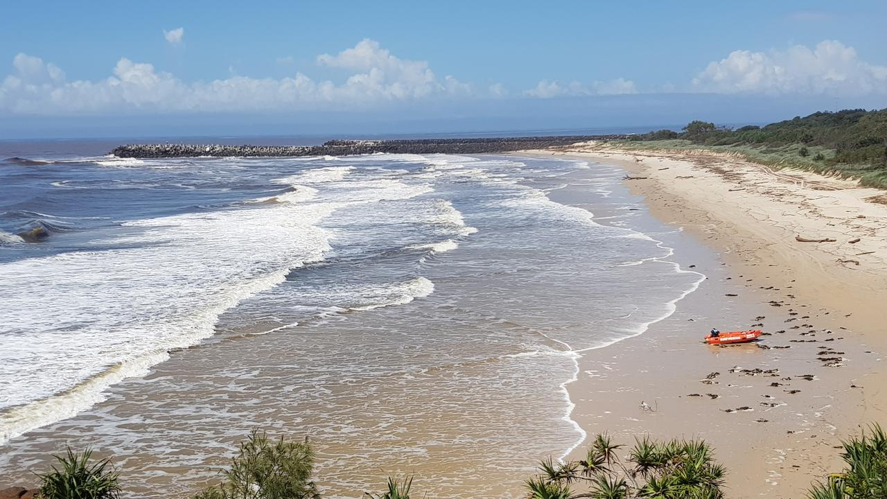NO REPRIEVE: With warm temperatures and high humidity over the weekend, there was no reprieve at Ballina Lighthouse Beach as the beach was closed due to flood debris and dirty water spewing out the mouth of the Richmond River.