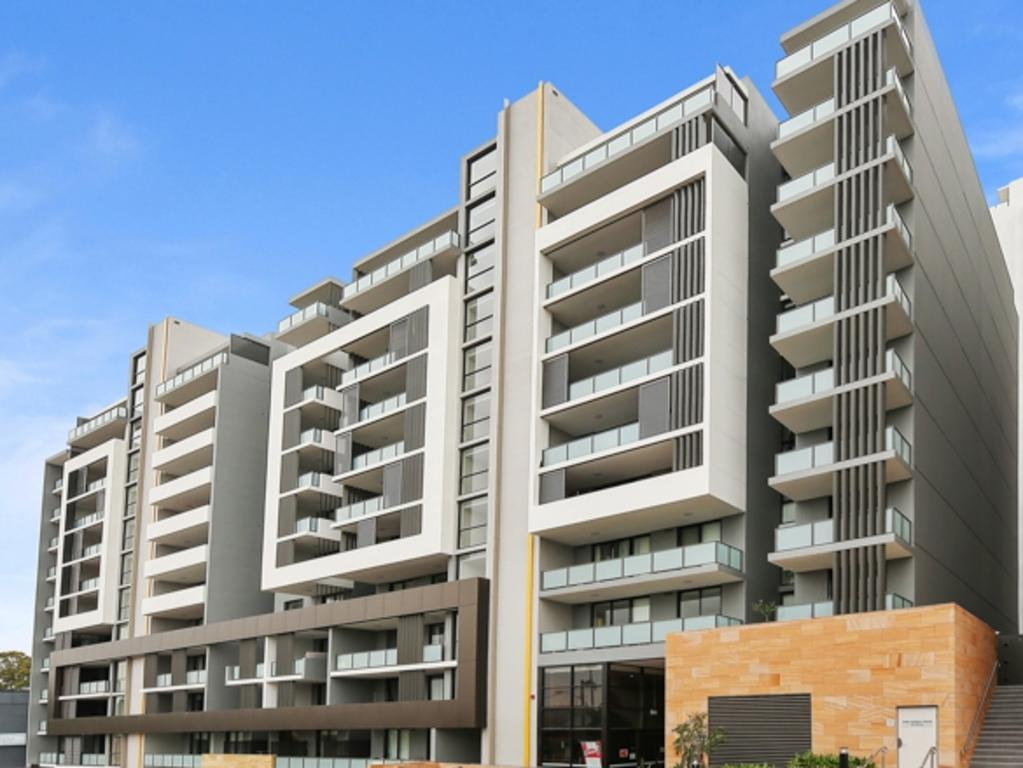 Deicorp Group's development on Woniora Rd, Hurstville.