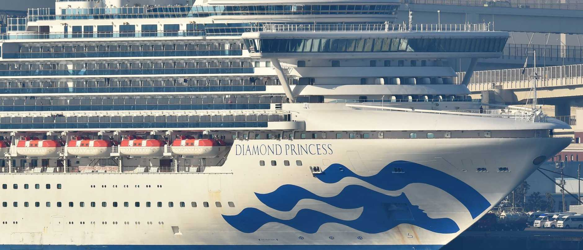 A passenger aboard the quarantined Diamond Princess cruise ship has spoken out — and he says he's not going anywhere.