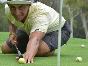 Noosa golf pro back on track after emotional health scare