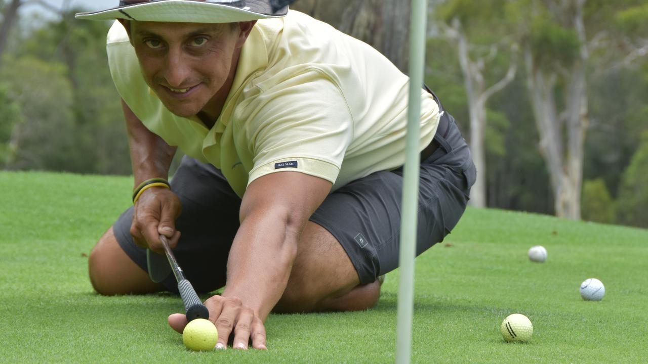 BRIGHT FUTURE: Noosa Golf Club teaching pro Jimmy Douris.