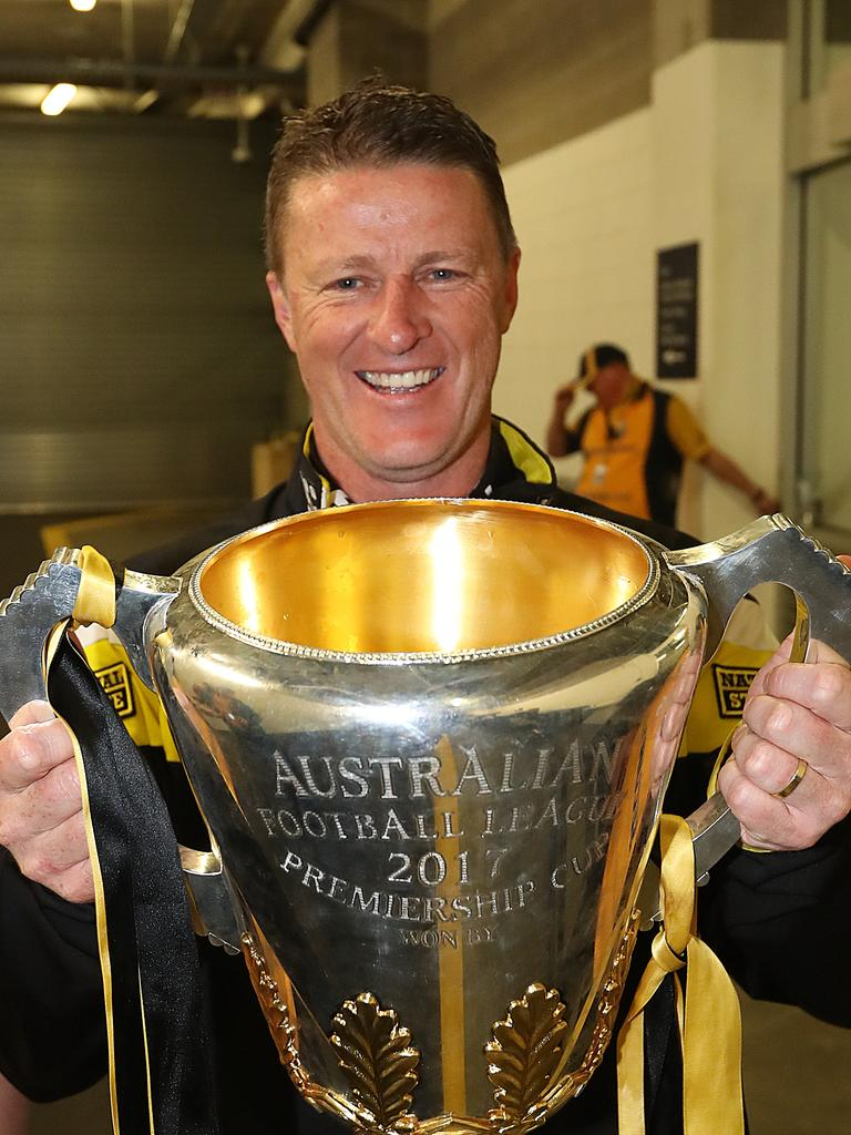Premiership coach Damien Hardwick will be in charge of the Victorian team. Picture: Alex Coppel.
