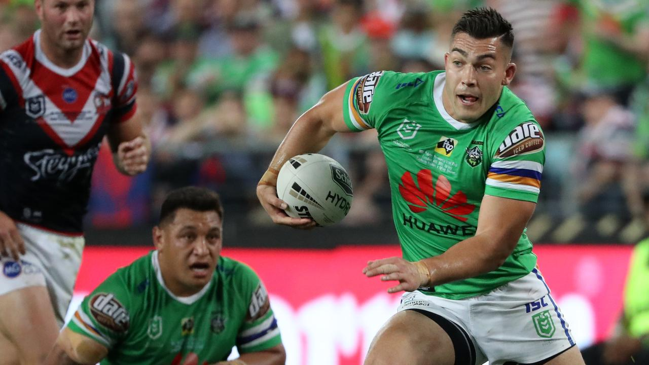 Nick Cotric is set to do a new deal with the Raiders. Picture: Jonathan Ng