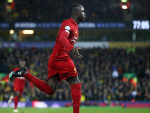 Mane strikes as Liverpool open up 25-point lead