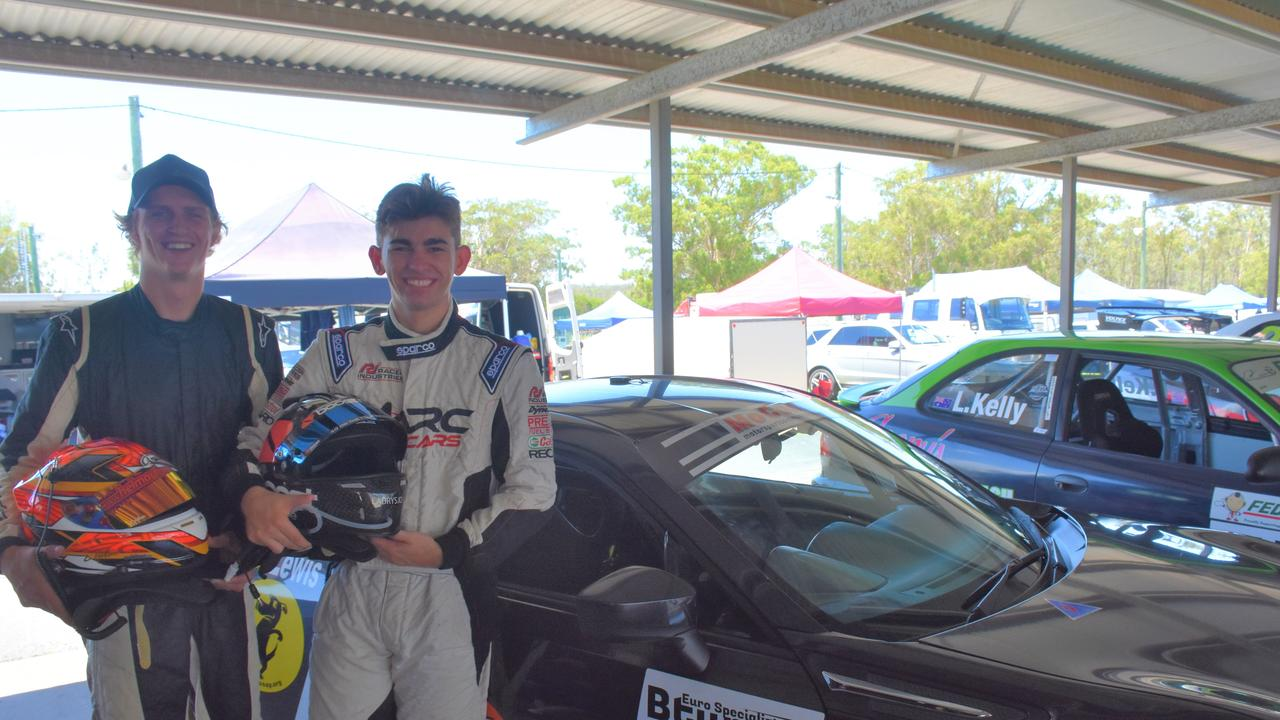 READY TO RACE: Zak Hudson and Broc Feeney excited to take on the Bathurst six hour race.