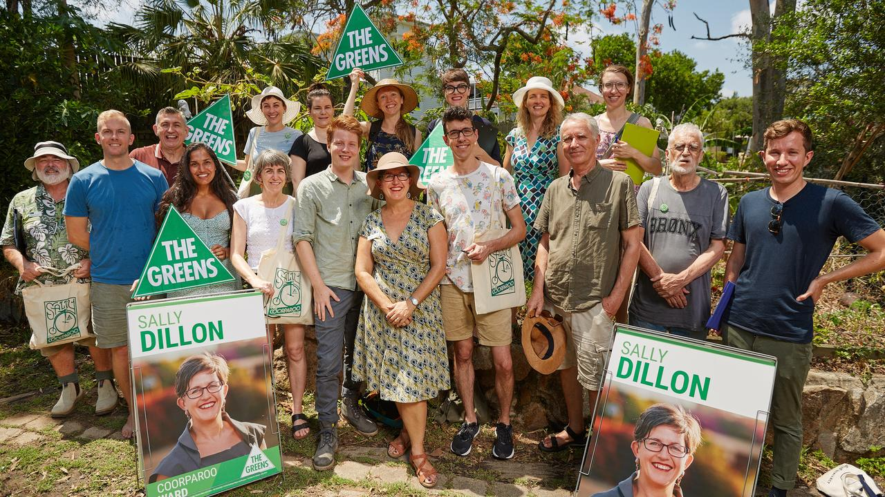 Greens candidate Sally Dillon and supporters plan a mass rally as a show of support for her campaign.