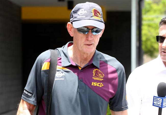 Wayne Bennett was sacked from his role at the Broncos. Picture: Tara Croser