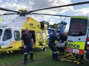 Teen flown to Brisbane after Coast beach mishap
