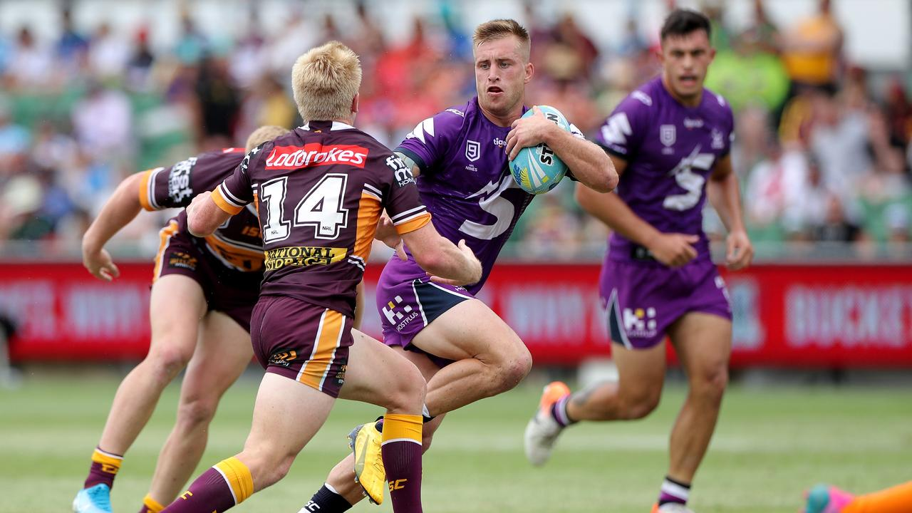 Cameron Munster emerged unscathed. Picture: AAP/Richard Wainwright