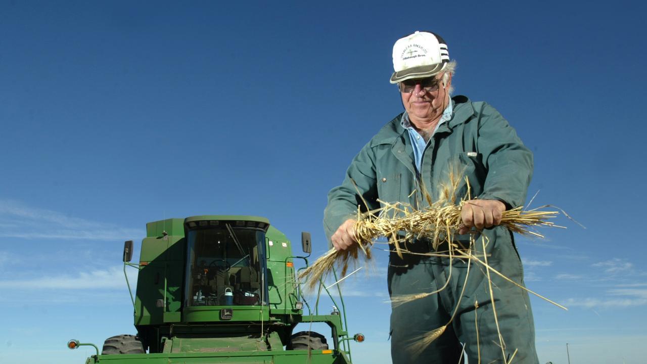 Bill Dillabaugh, a farmer and rancher in Saskatchewan, Canada. Picture: Dave Olecko/Bloomberg News