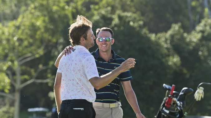 Sim prevails in dramatic City Golf Club scenes