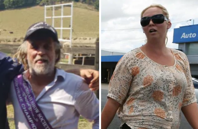 (Left) Mark Frost has been charged with detaining Mr Stott in company to obtain advantage. (Right) Lauren Grainger. Picture (right): Jason O'Brien