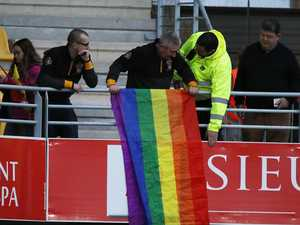 Rainbow flags get go-ahead for next Folau match