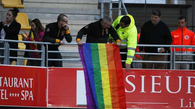 Rainbow flags get go-ahead for next Folau match