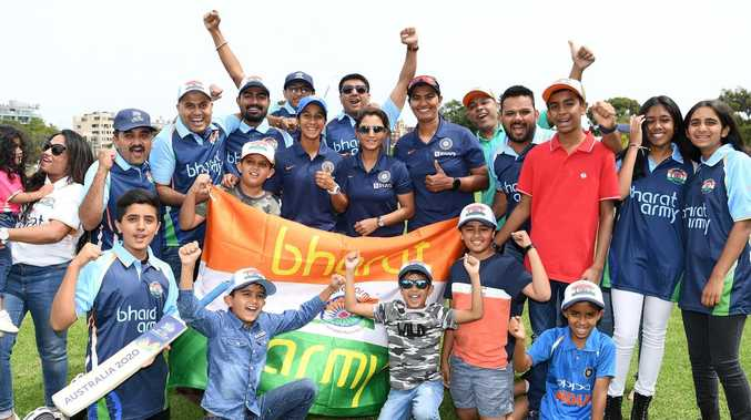 Bharat Army takes over Sydney for Cup opener