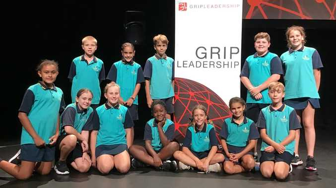 Year 6 students learn what it takes to be a leader