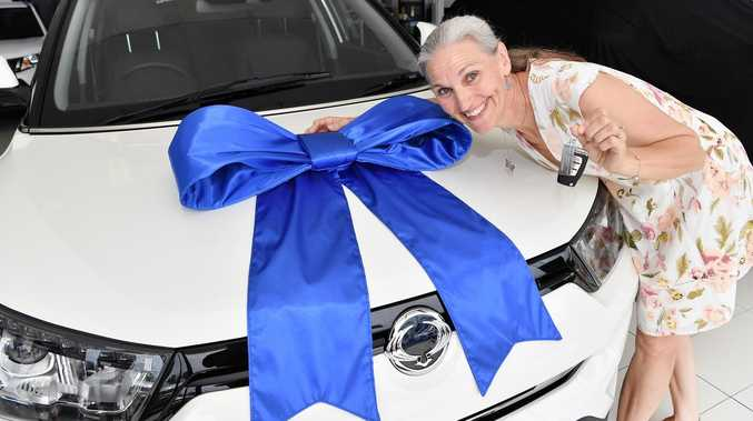 New whip gives 'peace of mind' to lucky winner