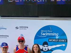 Local aqua athletes shine at world series