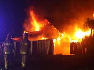 GALLERY: Gympie house destroyed in fiery blaze