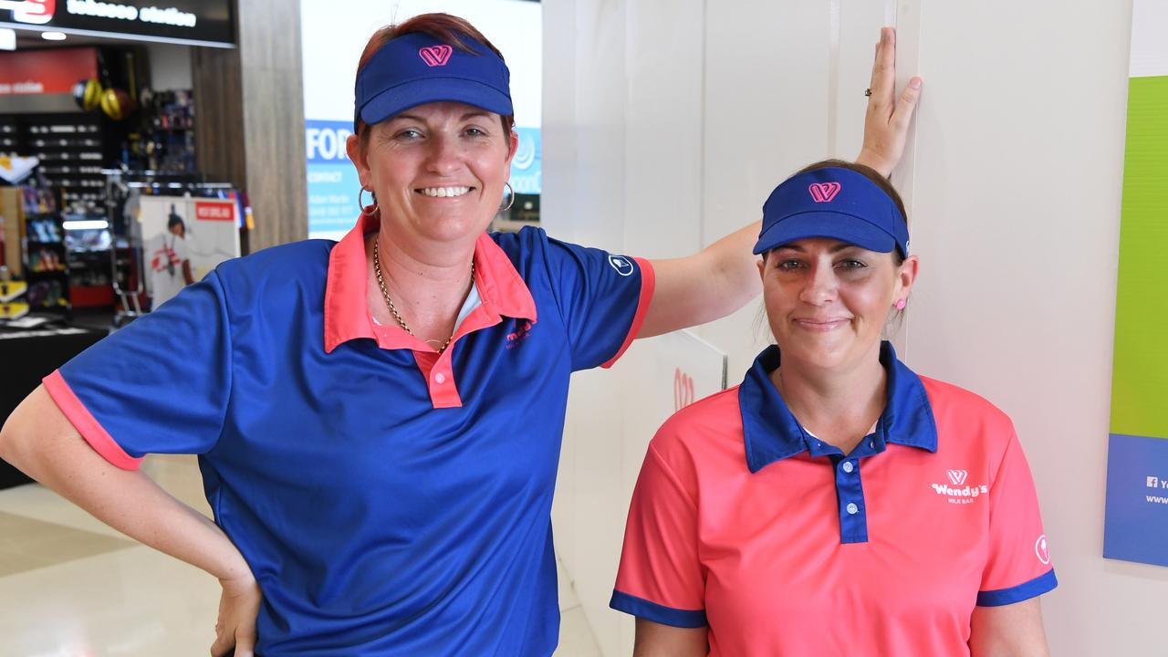 THE SCOOP: Wendy's Yeppoon owner Anne Fursman and store manager Kelly Welfare at the milkbar's future site in Yeppoon Central shopping centre
