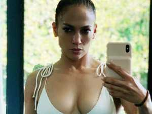 JLo's jaw-dropping bikini selfie