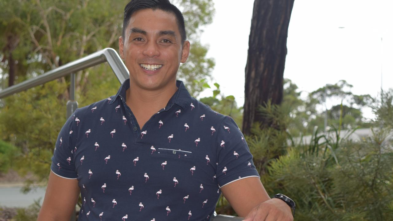 STORY OF HOPE: Former soldier Andy Fermo sees things a lot more positively these days and helps others with their mental health.