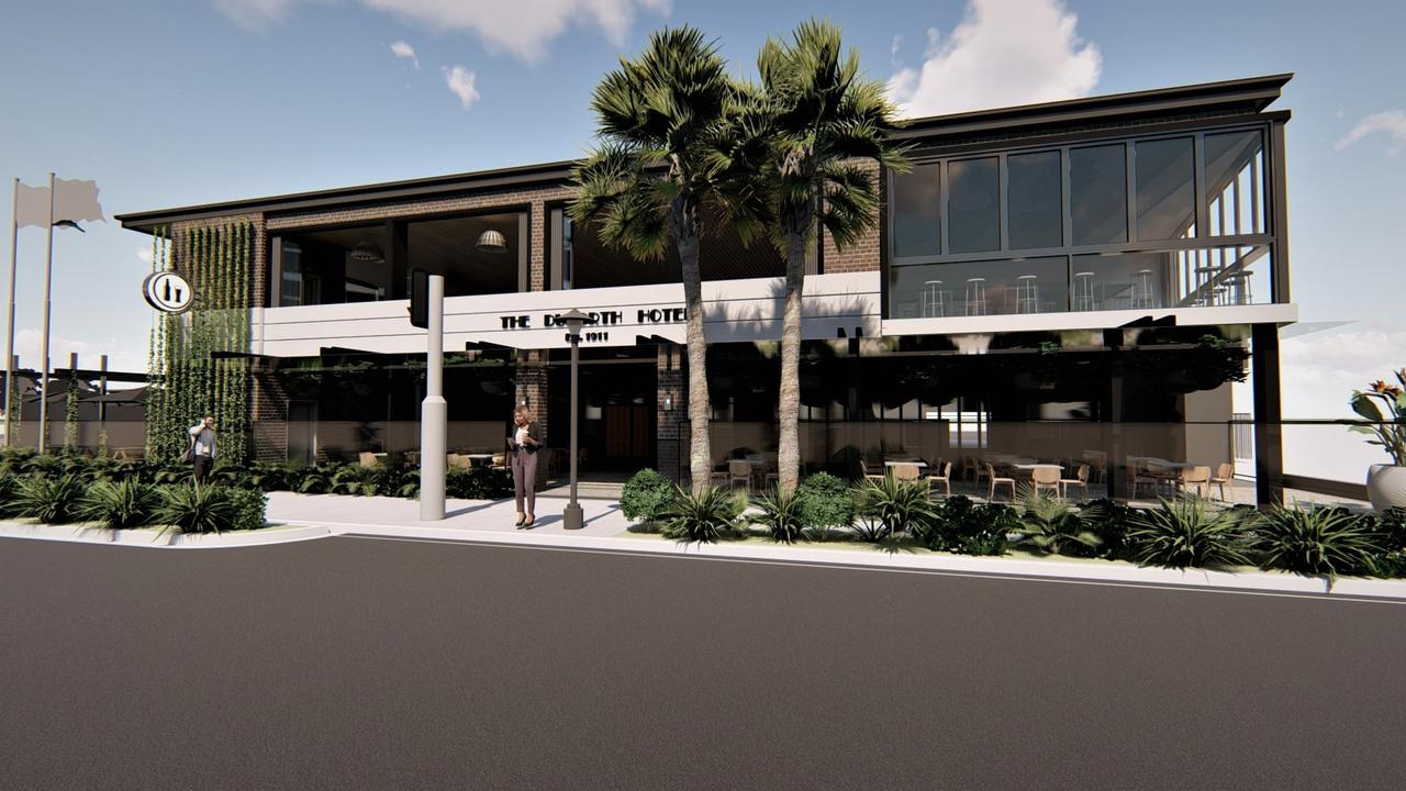 Renovations are underway for Maroochydore's Duporth Tavern which has been operating for 109 years.