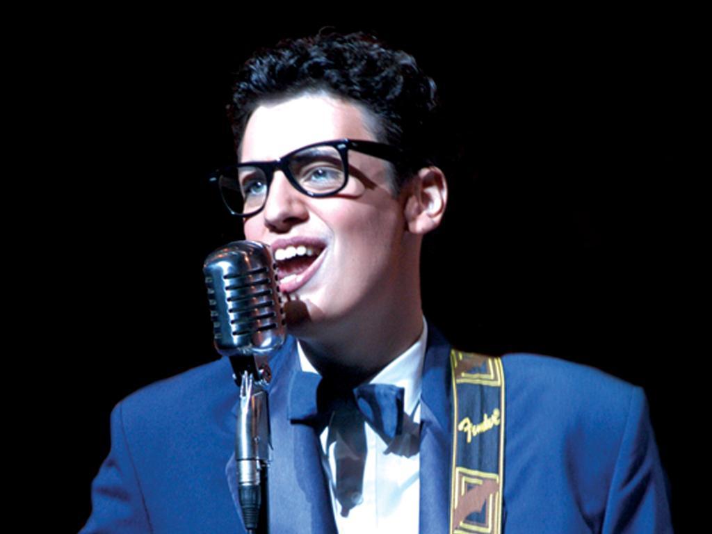 MUSICAL: Scott Cameron as Buddy Holly.