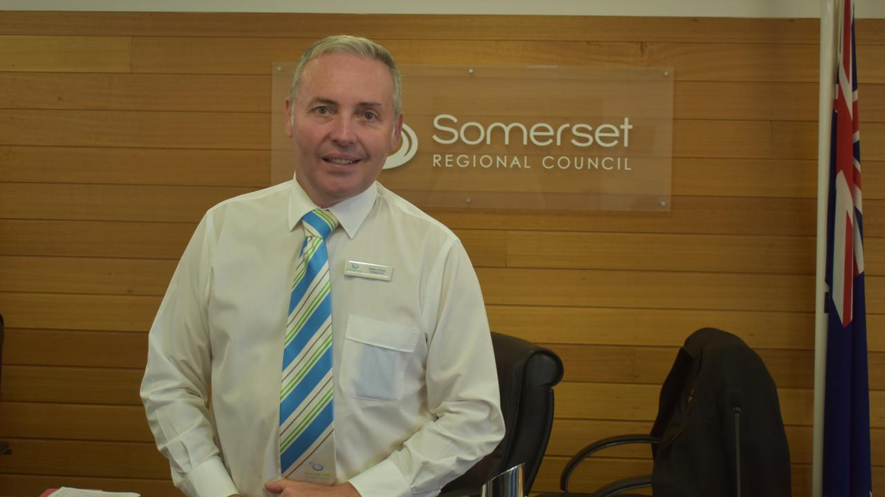 RUN AGAIN: Councillor Sean Choat is running to keep his position in the Somerset Regional Council. Photo: Nathan Greaves