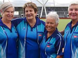 Ladies fours champions crowned at Mooloolaba