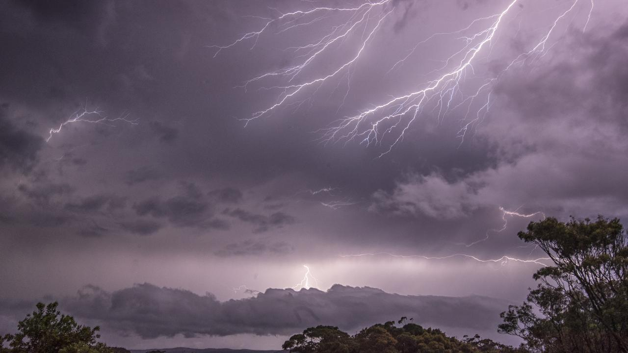 More thunderstorms are predicted for Toowoomba later this week. Picture: Alex Coppel