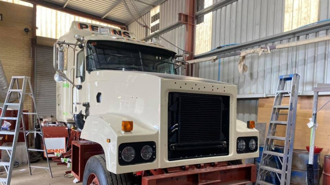 Premier Truck Painters restored this Mack for WA business belonging to Nathan Penn.