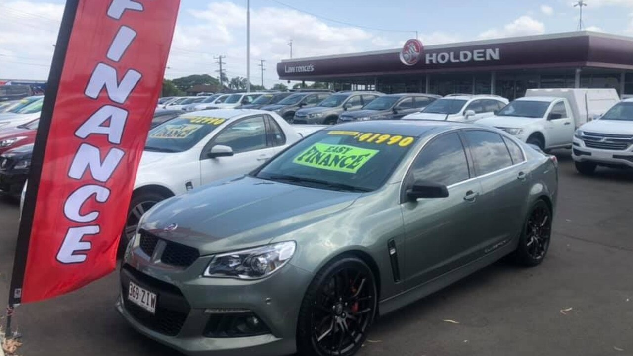 SAD DAY: Staff at Lawrence's Holden dealership are grappling with the implications of General Motors' decision to retire the Holden brand in Australia yesterday.