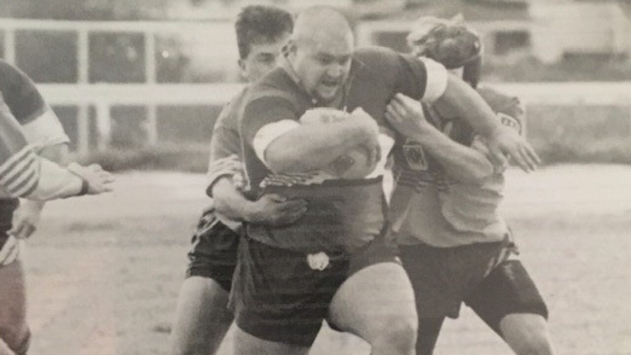 THROWBACK: Colley playing for Gremlins in 1996.
