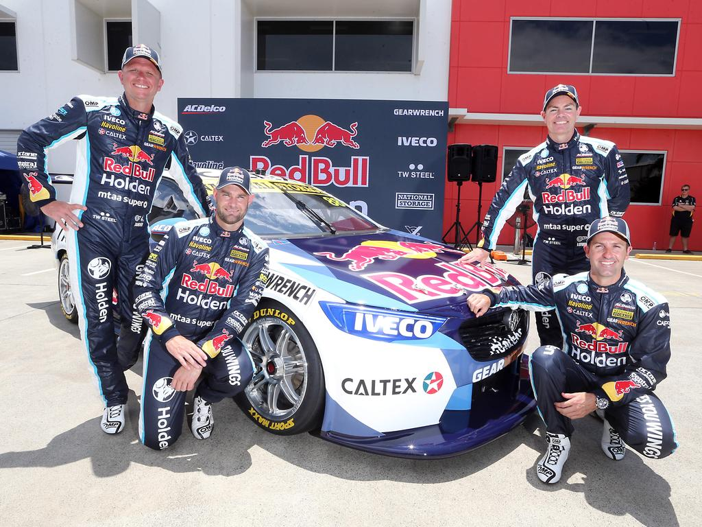 Red Bull Holden racing team revealed their 2020 livery for the V8 Supercars Championship. Picture: AAP