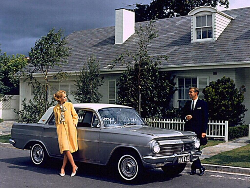 The 1962 Holden EJ sedan.