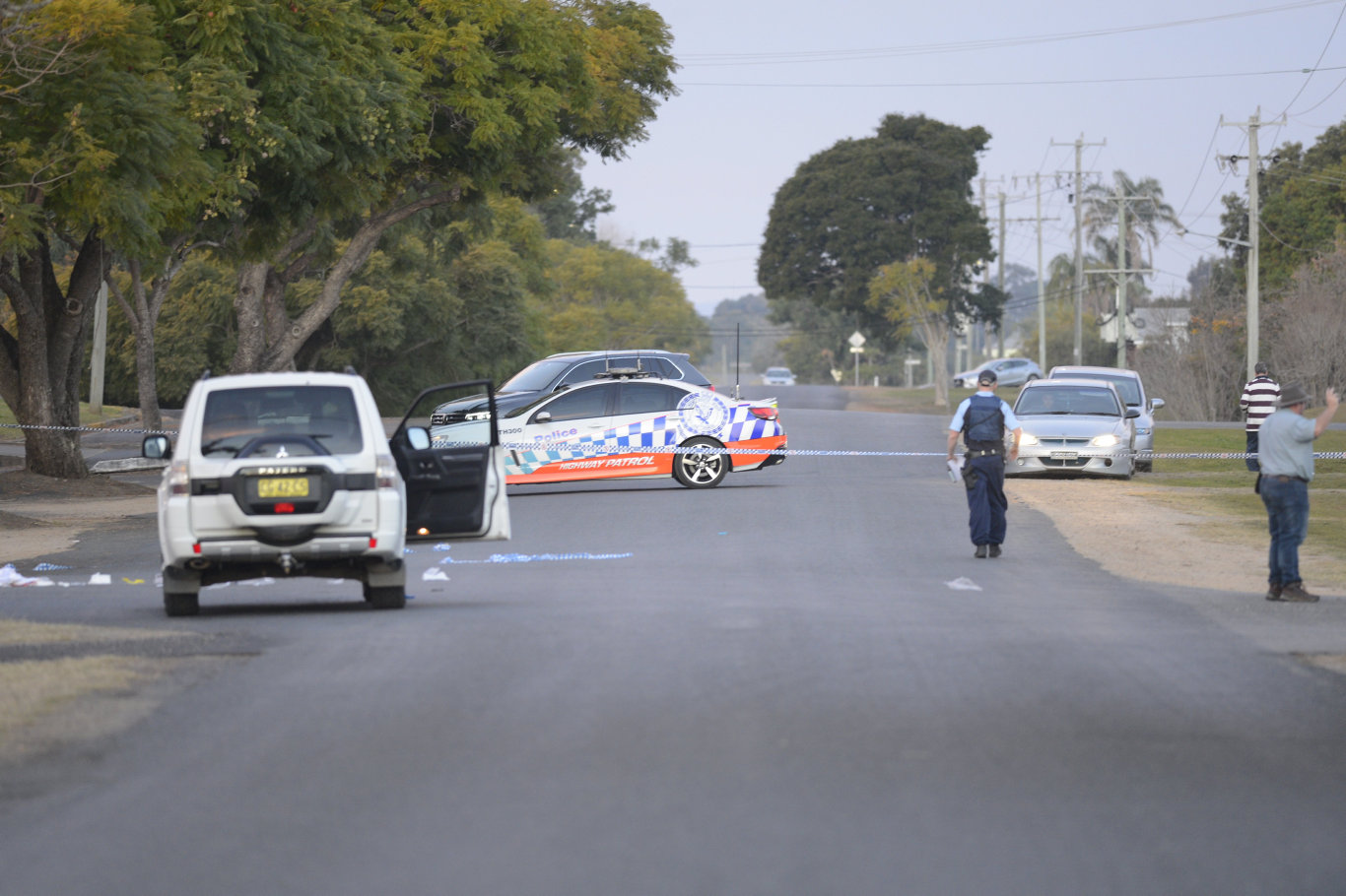 SHOT: Christopher McGrail, 44, was shot by police on August 6, 2017 during a confrontation in Grafton and died in hospital.