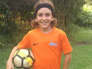 Help a young football star realise his dream