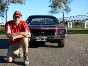 CLUB MEET: Bundaberg Early Holden Club member, Rick