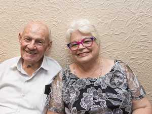 Mervyn Buckholz and Penelope Barry at Gina Jeffreys