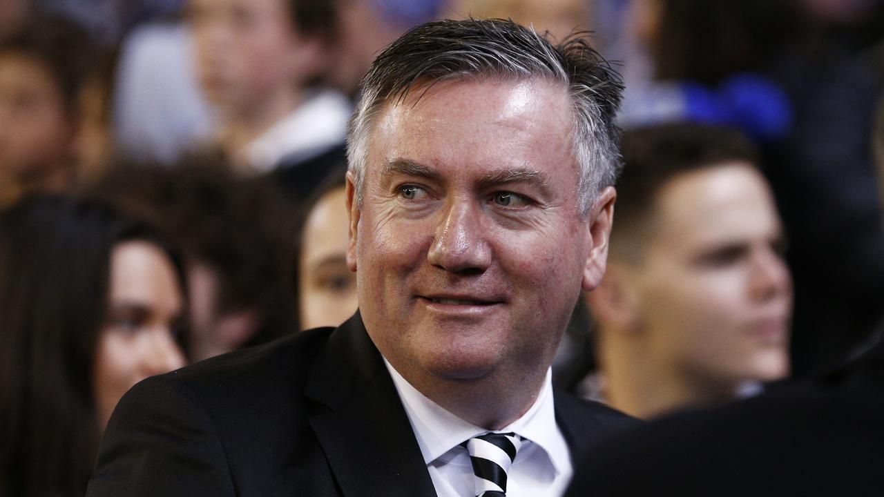 Magpies president Eddie McGuire.